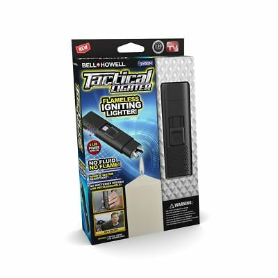 Bell + Howell Taclighter - Electric Rechargeable & Flameless Lighter, 4 Colors!