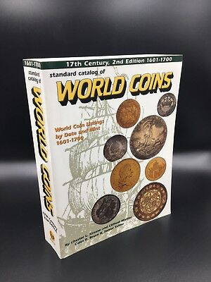 17th Century 2nd Ed 1601-1700 Standard Catalog Of World Coins Book