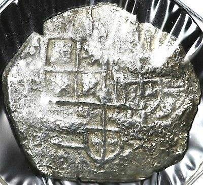 1600's COB FOUR 4 REALES BOLIVIA WITH SHIPWRECK EFFECT