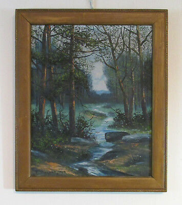 Victor Shearer Oil Painting Summer Landscape 1939 Reading, PA Berks County