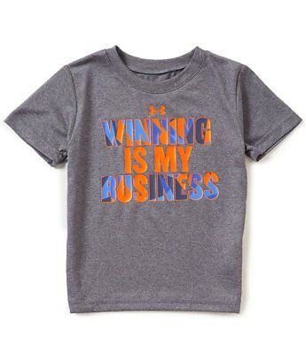 Under Armour Baby Boys Winning Is My Business Short-Sleeve Tee Size 3T