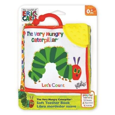The Very Hungry Caterpillar Let's Count Soft Teether Book