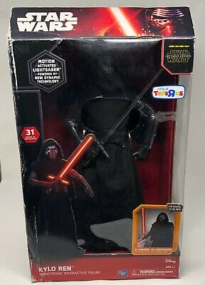 "Star Wars The Force Awakens Kylo Ren 17"" Animatronic Talking Interactive Figure"