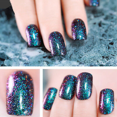 10ml Born Pretty Peacock Gel Polish Soak Off Holographic Chameleon Gel Varnish