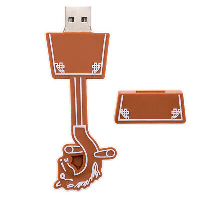 Portable USB Flash Memory Pen Drive Stick Disk Super Speed for Laptop Brown