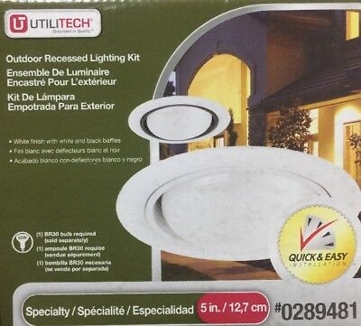 Utilitech Outdoor Recessed Lighting Kit