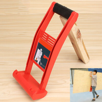 Grass Wood Panel Carrier Gripper Handle Drywall Plywood Sheet ABS 80KG Load Tool