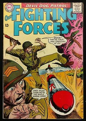 Our Fighting Forces #88 1964 Sharp Fn Glossy  Gunner+Sarge 2 Great Stories