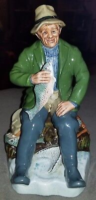 "Royal Doulton, Doulton & CO Limited ""A Good Catch"" Figurine Signed and Numbered"