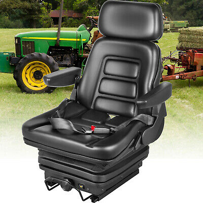 New Suspension Seat Tractor Forklift Excavator Dozers Wheel Loaders Foldable