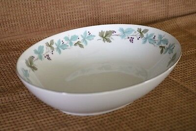 "Fine China of Japan - MSI - VINTAGE - 6701 - 10 3/8"" Oval Vegetable Serving Bowl"
