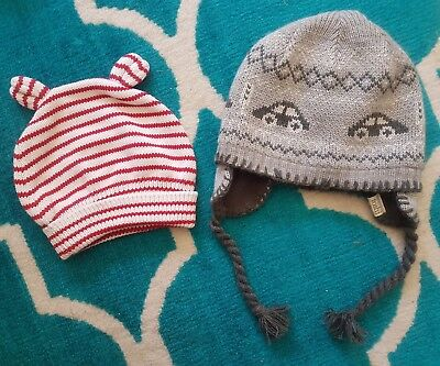 baby boys beanie size 6-12 months baby bunting