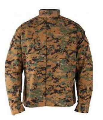 US PROPPER MARPAT Army Woodland Digital USMC ACU Combat Jacke coat MR