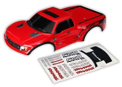 traxxas ford raptor karosserie f r slash 1 10 rot ersetzt. Black Bedroom Furniture Sets. Home Design Ideas