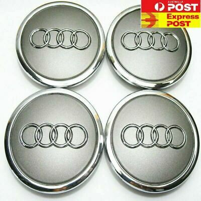4 x Audi Wheel Rim Centre Cap 69mm 70mm caps Part 4B0 601 170A Q5 A4 A5 A6 A7 A8