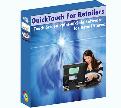 Retail Touch Screen POS (Point of Sale) Software - User Friendly/Easy to Learn