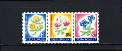 Romania 1973 Protection of Nature - Flowers SG 3982a MH