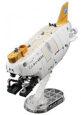 Exploring.Lab 1/48 submarine manned research submersible Shinkai 6500 From Japan