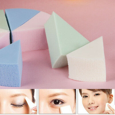 8X Facial Cleaning Make Up Soft Sponge Face Foundation Powder Puff Triangle