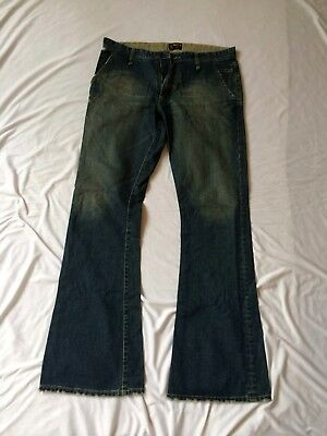 Vintage Lee Denim Jean Flares 2000s