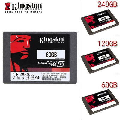 "Kingston 2.5"" SSDNow V300 60GB 120GB SSD SATA III Internal Solid State Drive UK"