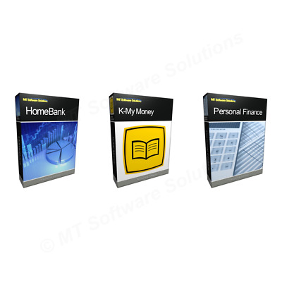 Value Personal Finance Book Keeping Accounting Software Manage Cash Bundle