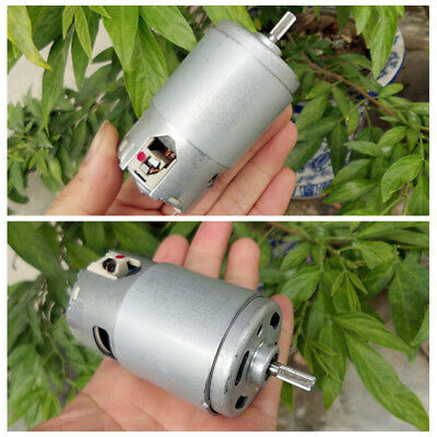 600W AC/DC220V 15800rpm Large Torque High Power Speed Carbon Brush Motor