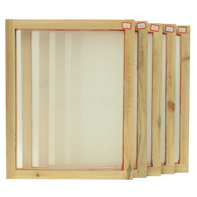 A3 Screen Printing Wooden Frames Choose Mesh Count 90T 77T 55T 43T 32T Silk AU