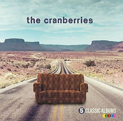 THE CRANBERRIES '5 CLASSIC ALBUMS' (Best Of / Greatest Hits) 5 CD SET (2016)