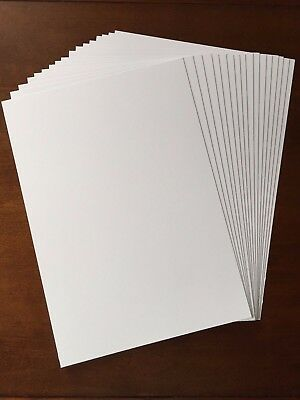 A4 Premium Quality Smooth White Card 3 different weights
