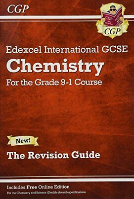 New Grade 9-1 Edexcel International GCSE Chemistry: Re by CGP New Paperback Book