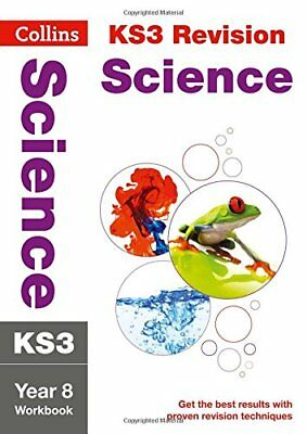 KS3 Science Year 8 Workbook (Collins KS3 Revis by Collins KS3 New Paperback Book