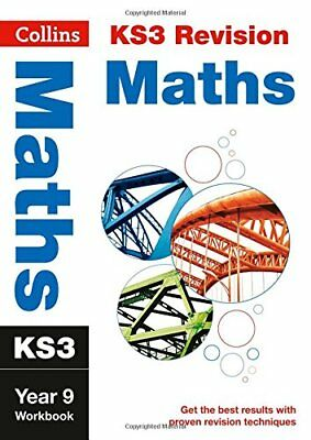 KS3 Maths Year 9 Workbook (Collins KS3 Revisio by Collins KS3 New Paperback Book