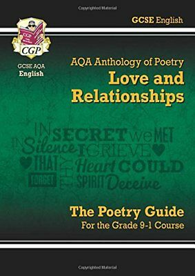 New GCSE English Literature AQA Poetry Guide: Love & R by CGP New Paperback Book