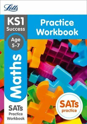 KS1 Maths SATs Practice Workbook: 2018 tests (Le by Letts KS1 New Paperback Book