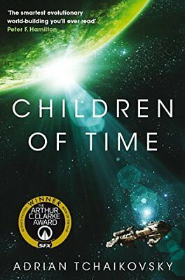 Children of Time: Winner of the 2016 Ar by Adrian Tchaikovsky New Paperback Book