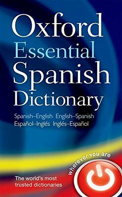 Oxford Essential Spanish Dictionary by by Oxford Dictionaries New Paperback Book