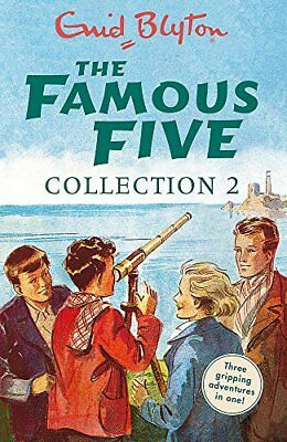 The Famous Five Collection 2: Books 4-6 (Famou by Enid Blyton New Paperback Book