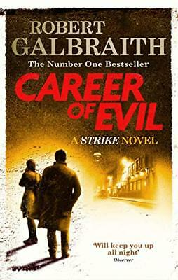 Career of Evil: Cormoran Strike Book 3 by Robert Galbraith New MM Paperback Book