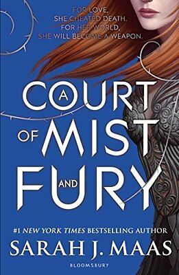 A Court of Mist and Fury (A Court of Thorns  by Sarah J. Maas New Paperback Book