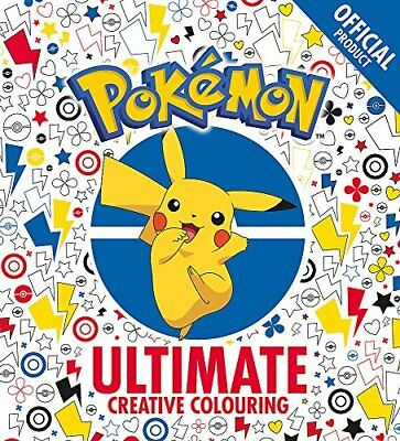 The Official Pokémon Ultimate Creative Colouring by Pokémon New Paperback Book