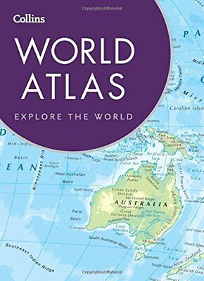 Collins World Atlas: Paperback Edition by Collins Maps New Paperback Book