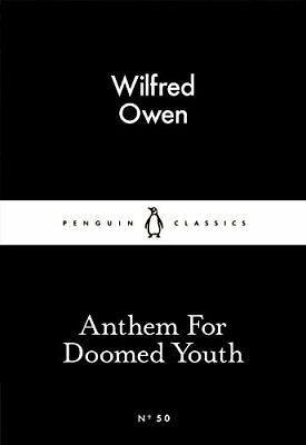 Anthem For Doomed Youth (Penguin Little Black by Wilfred Owen New Paperback Book