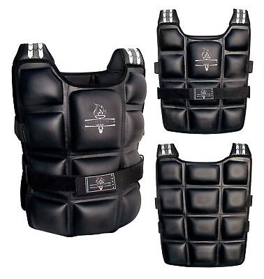 Pro Weighted Vest Gym Running Fitness Sports Training Weight Loss Jacket AG