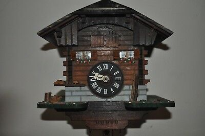 vintage musical cuckoo clock swiss movement