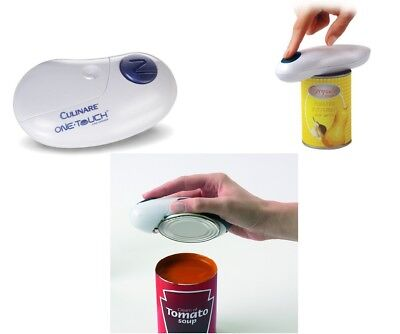 Culinare One Touch Automatic Can Opener  White Open Your Can Fast With One Touch