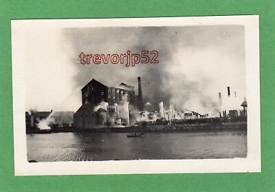 Unidentified Fire Mill Factory from Norfolk collection RP pc unused Ref G11