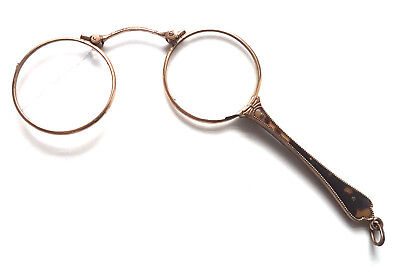 Antique Folding Lorgnettes Spectacles Opera Eye Glasses Steampunk