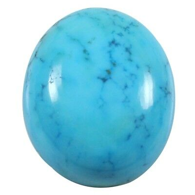36.35 cts Natural Top Quality Turquoise Cabochon Oval Loose Gemstone For Jewelry