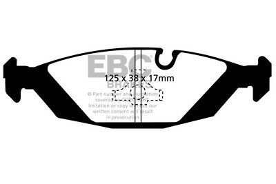 EBC YELLOWSTUFF FRONT REAR PADS KIT FOR BMW 325 2.5 2000-07 E46